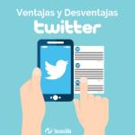 Ventajas y desventajas de usar Twitter